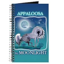 Appaloosa Horse by Moonlight Journal