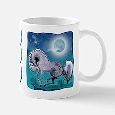 Appaloosa Horse by Moonlight Mug