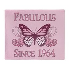 Fabulous Since 1964 Throw Blanket