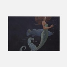 Mermaid and the Blue Fish Magnets