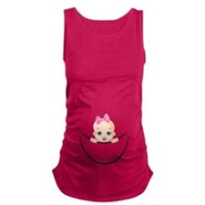 Funny Baby girl Maternity Tank Top