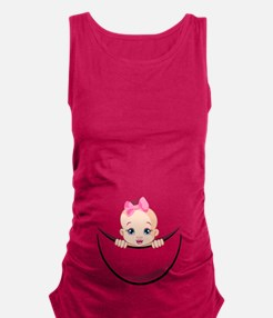 Unique Its a boy it a girl Maternity Tank Top