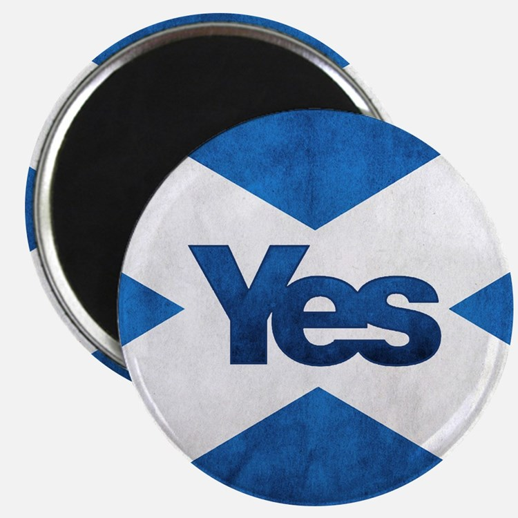Yes Scotland flag Magnets