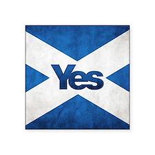 Yes Scotland flag Sticker