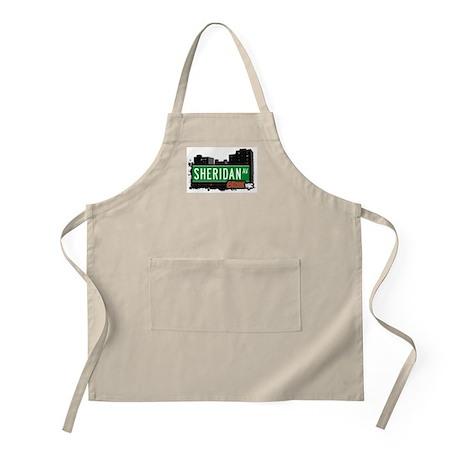 Sheridan Av, Bronx, NYC BBQ Apron