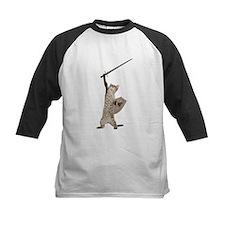 Heroic Warrior Knight Cat Baseball Jersey