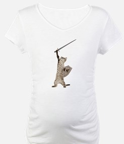 Heroic Warrior Knight Cat Shirt