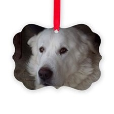 Great Pyrenees Picture Ornament