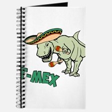 T-Mex T-Rex Mexican Tyrannosaurus Dinosaur Journal