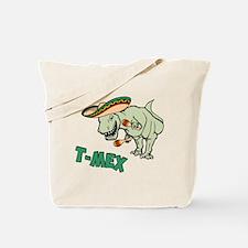 T-Mex T-Rex Mexican Tyrannosaurus Dinosaur Tote Ba