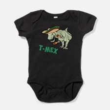 T-Mex T-Rex Mexican Tyrannosaurus Dinosaur Baby Bo