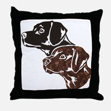 Partners In Crime Throw Pillow