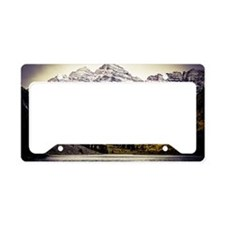 Fall Maroon Bells License Plate Holder