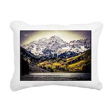 Fall Maroon Bells Rectangular Canvas Pillow