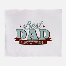 Best Dad Ever Stadium Blanket