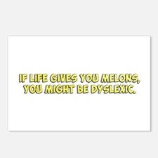 If Life Gives you Melons, You Might Be Dyslexic Po