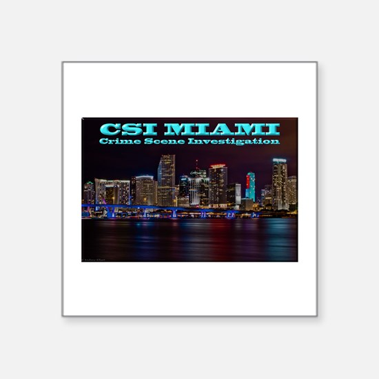 CSI Miami After Dark Sticker