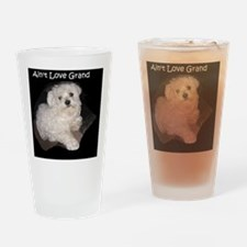 Maltese Grand Love Drinking Glass