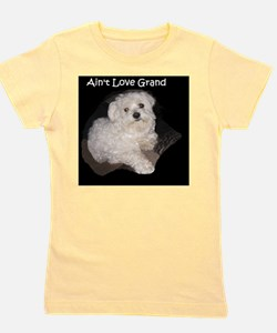Maltese Grand Love Girl's Tee