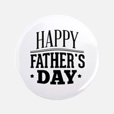 """Happy Father's Day 3.5"""" Button (100 pack)"""