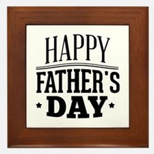Happy Father's Day Framed Tile