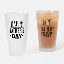 Happy Father's Day Drinking Glass