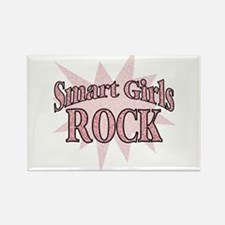 Smart Girls Rock Rectangle Magnet