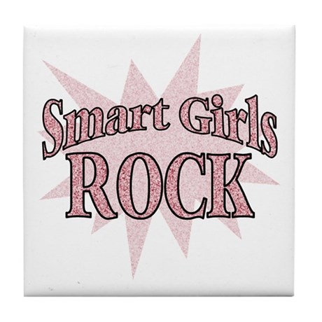 Smart Girls Rock Tile Coaster
