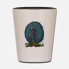 Bird Children - The Peacock Shot Glass