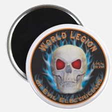 Legion of Evil Electricians Magnet