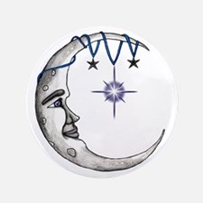 """Man in the Moon 3.5"""" Button"""
