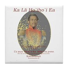 Hawaiian Sovereignty Tile Coaster