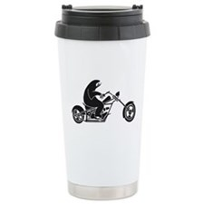 Slow Sloth On A Fast Bike Travel Mug