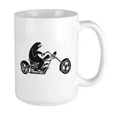 Slow Sloth On A Fast Bike Mugs