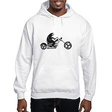 Slow Sloth On A Fast Bike Hoodie