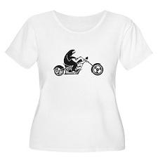 Slow Sloth On A Fast Bike Plus Size T-Shirt