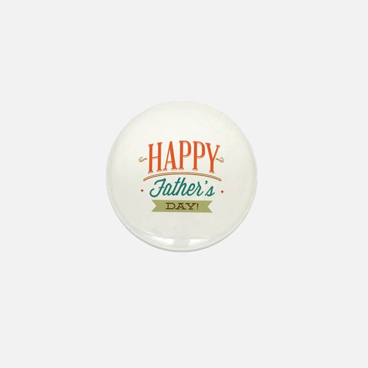Happy Father's Day Mini Button