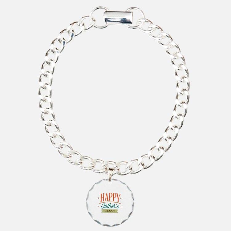 Happy Father's Day Bracelet