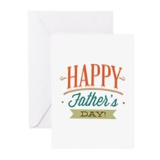 Happy Father's Day Greeting Cards (Pk of 10)