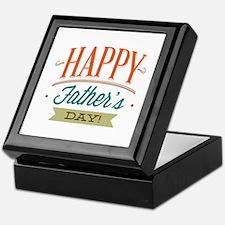 Happy Father's Day Keepsake Box