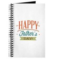 Happy Father's Day Journal