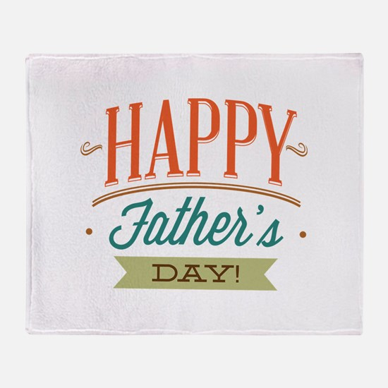 Happy Father's Day Stadium Blanket