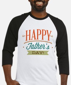 Happy Father's Day Baseball Jersey