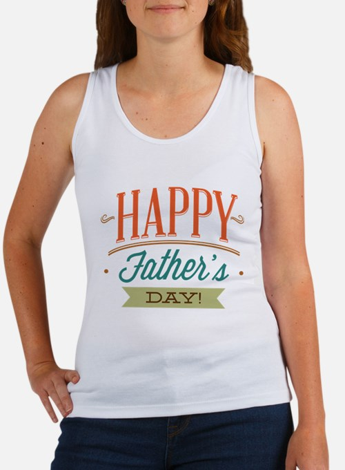 Happy Father's Day Women's Tank Top