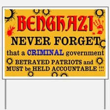 Benghazi Yard Sign