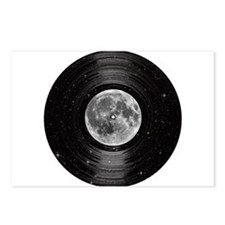 Moon In Space Vinyl LP Record Postcards (Package o