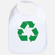 Green Recycle Bib