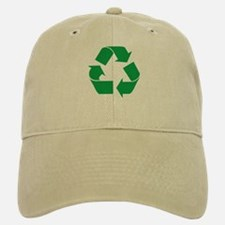 Green Recycle Baseball Baseball Cap