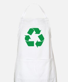 Green Recycle BBQ Apron