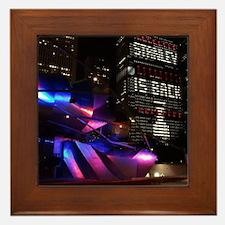 Stanley Cup Skyline 2013 Framed Tile